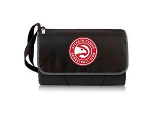 Blanket Tote - Black (Atlanta Hawks) Digital Print
