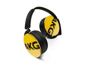 AKG Y50 - Yellow On-ear headphones with AKG-quality sound and detachable cable