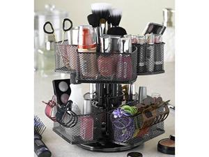Nifty Home Products Make-Up Carousel - Black