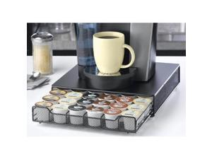 Nifty Black Metal Single Drawer Storage System - 36 K-Cups