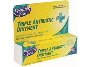 Premier Value Triple Antibiotic Ointment - .5oz