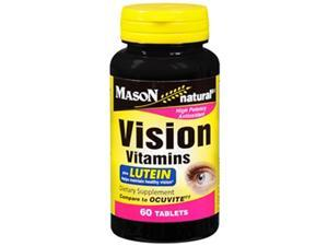 Mason Natural Vision Vitamins Plus Lutein Tablets - 60ct