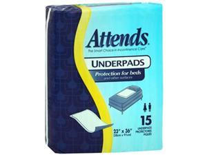 Attends Disposable Underpads Light Absorbency - 10 pks of 15