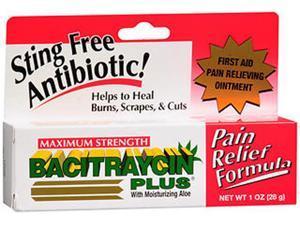 Bacitraycin Plus Ointment Maximum Strength- 1 oz