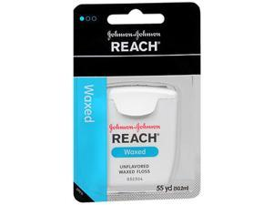Reach Waxed Floss Unflavored - 55 yds.