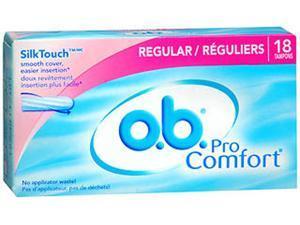 o.b. Pro Comfort Tampons Regular - 18 ct