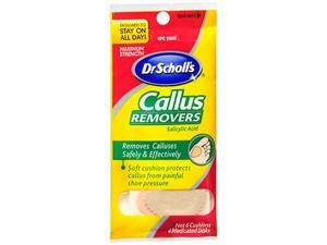 Dr. Scholl's Callus Remover - 6 Cushions