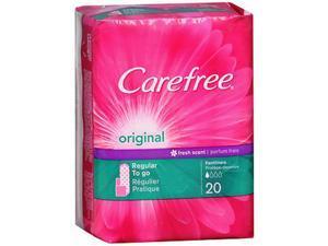 Carefree Original Regular Fresh Scent - 20 Liners
