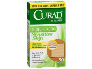Curad Sensitive Skin Spot Bandages - 50 ct