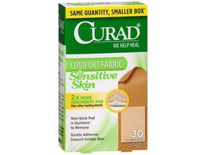 Curad Sensitive Skin Bandages - 30 ct