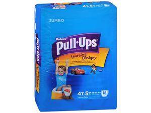 Huggies Pull-Ups Learning Designs Boys' Training Pants Size 4T-5T - 18 ct cs of 4