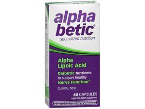alpha betic Lipoic Acid Capsules - 60 ct