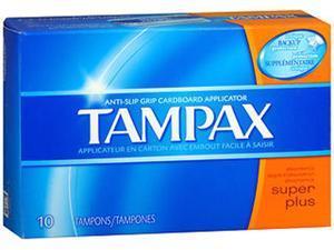 Tampax Tampons Super Plus - 10 ct