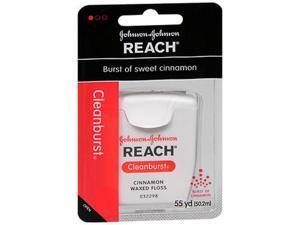 Reach Cleanburst Waxed Floss Cinnamon - Each