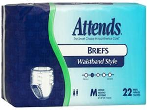 Attends Briefs Medium Ultimate Protection - 4 pks of 22