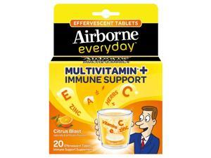 Airborne Everyday Immune Support plus Multivitamin - 60 Tablets