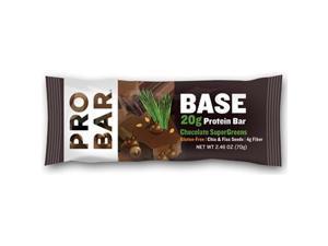 Probar Protein Bar - Base - Chocolate Supergreens - 2.46 Oz - 1 Case