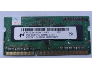 Micron 2GB DDR3 1333 PC3-10600S Sodimm Laptop Memory RAM