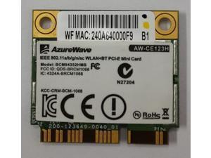 Broadcom BCM94352HMB 802.11/ac/867Mbps WLAN + BT4.0 Half Mini PCI-E