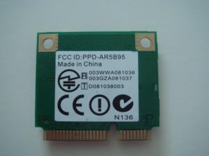 Atheros AW-NE785H AR5B95 AR9285 802.11B/G/N Half Mini PCI-E Card