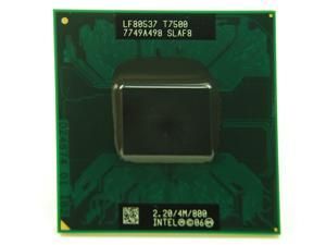 Intel Core 2 Duo T7500 2.2GHz SLAF8 SLA44 4MB Mobile CPU Processor Socket P 478-pin laptop CPU