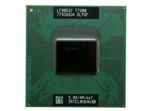 Intel Core2 Duo Processor T7200 2.0GHz 4MB Socket M 478-pin laptop CPU