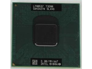 Intel Pentium T3200 2.0GHz 1MB Dual-Core SLAVG Socket P 478-pin laptop CPU