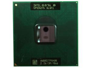 Intel Core 2 Duo P8400 2.26GHz SLGFC SLB3R 1066MHz 3M uFCPGA8 Socket P laptop CPU