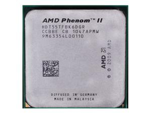 AMD Phenom II X6 1055T 2.8 GHz Six Core CPU Processor HDT55TFBK6DGR Socket AM3 125W desktop CPU
