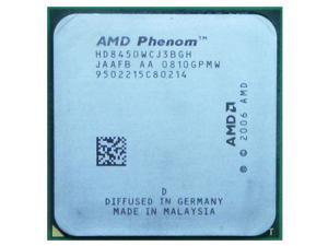 AMD Phenom X3 8450 2.1 GHz Triple-Core Processor HD8450WCJ3BGH 95W Socket AM2+ desktop CPU