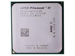 AMD Phenom II X4 840 3.2GHz Quad-Core Processor Socket AM3 desktop CPU