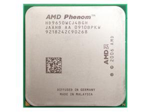 AMD Phenom X4 9650 2.3GHz Quad-Core Processor 95W Socket AM2+ desktop CPU