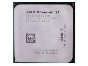 AMD Phenom II X4 850 3.3GHz Quad-Core Processor HDX850WFK42GM Socket AM3 desktop CPU