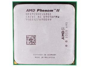 AMD Phenom II X4 920 2.8GHz Quad-Core CPU Processor HDX920XCJ4DGI 125W Socket AM2+ desktop CPU