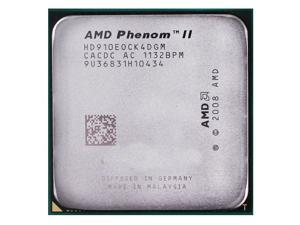 AMD Phenom II X4 910e 2.6GHz Quad-Core Processor HD910EOCK4DGM 65W Socket AM3 desktop CPU