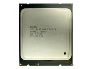 Intel Xeon E5-2670 2.60GHz 8 Core Processor, 20MB Cache, Sandy Bridge EP Socket 2011