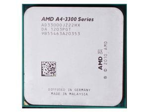 AMD A4-3300 2.5GHz APU with AMD Radeon 6410 HD Graphics Socket FM1 65W Dual-Core Processor desktop cpu