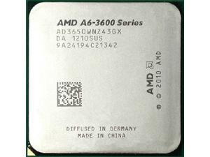 AMD A6-3650 2.6GHz APU with AMD Radeon 6530 HD Graphics Socket FM1 100W Quad-Core Processor desktop CPU