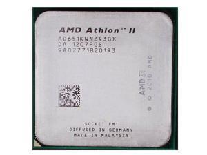 AMD Athlon II X4 651K 3.0GHz 4MB Quad-Core CPU Processor Socket FM1 905-pin 100W desktop CPU