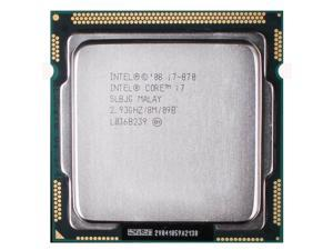 Intel Core i7-870 2.93 GHz 8 MB Cache Processor Socket LGA1156 desktop CPU