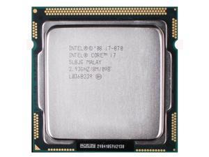 Intel Core i7-870 2.93 GHz 8 MB Cache Processor Socket LGA1156 desktop CPU