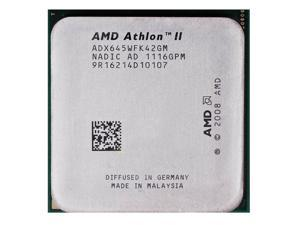 AMD Athlon II X4 645 3.1GHz Quad-Core Processor 95W Socket AM3 938-pin desktop CPU