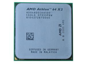 AMD Athlon 64 X2 4800+ 2.5GHz 2 x 512KB L2 Cache Socket AM2 65W Dual-Core Processor desktop CPU