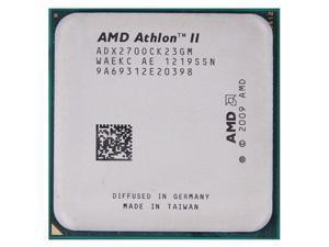 AMD Athlon II X2 270 3.4GHz 2x1 MB L2 Cache Socket AM3 65W Dual-Core Desktop Processor
