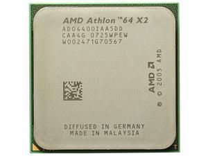 AMD Athlon 64 X2 4400+ 2.3 GHz 1MB Dual-Core Processor Socket AM2 desktop CPU