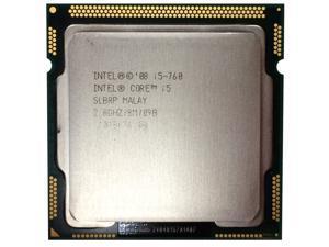 Intel Core i5-760 2.8 GHz 8 MB Cache 95W 4 Cores Processor Socket LGA1156 desktop CPU