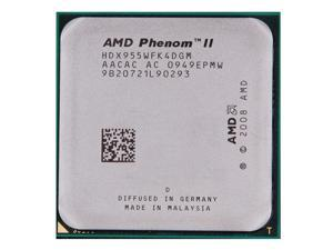 AMD Phenom II X4 955 3.2 GHz L3 Cache 95W Quad-Core Processor Socket AM3 desktop CPU HDX955WFK4DGM
