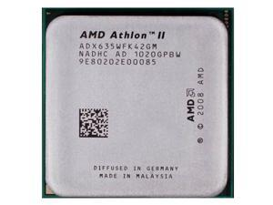 AMD Athlon II X4 635 2.9 GHz 4 x 512 KB L2 Cache 95W Quad-Core Processor Socket AM3 desktop CPU