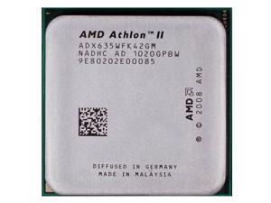 AMD Athlon II X4 635 2.9 GHz 4 x 512 KB L2 Cache 95W Quad-Core Processor Socket AM3 desktop CPU