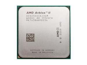 AMD Athlon II X2 250 3.0 GHz 2x1 MB L2 Cache 65W Dual-Core Socket AM3 Desktop Processor